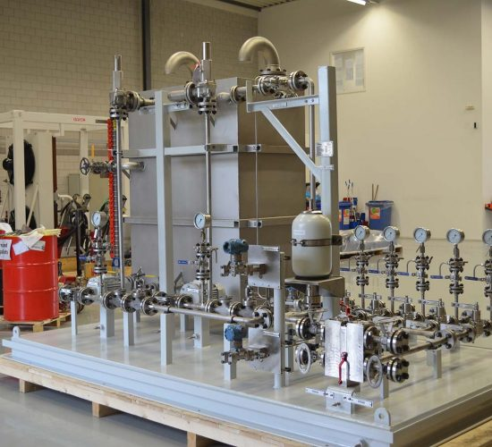 Oil & Gas Skid with complete system