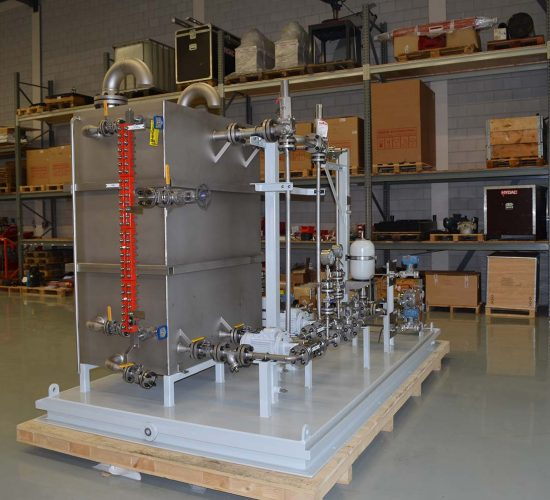 Complete system for use in the oil & gas industry