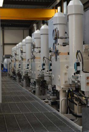 Filtration of 4 MW Hydraulic Power Unit