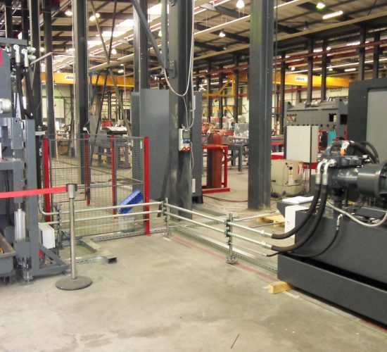 HPU connected to machine