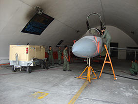 Hydraulic GSE Equipment for maintenance of Military Fighter jet
