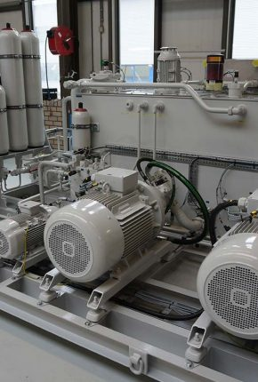 Hydraulic Power unit for TSHD