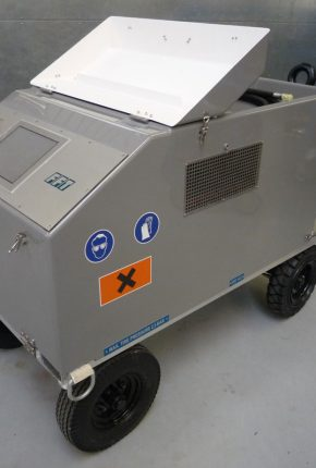 Test unit for use during aircraft assembly